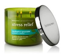 Aromatherapy Candles...  Stress + Rest = Yes.