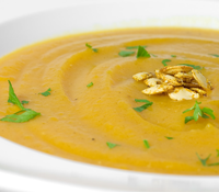 Sweet Butternut Squash Soup
