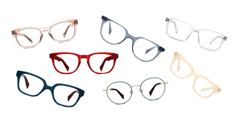 Fashion: The World's Best Colorful Glasses - Warby Parker's Pastel & Bright Collection