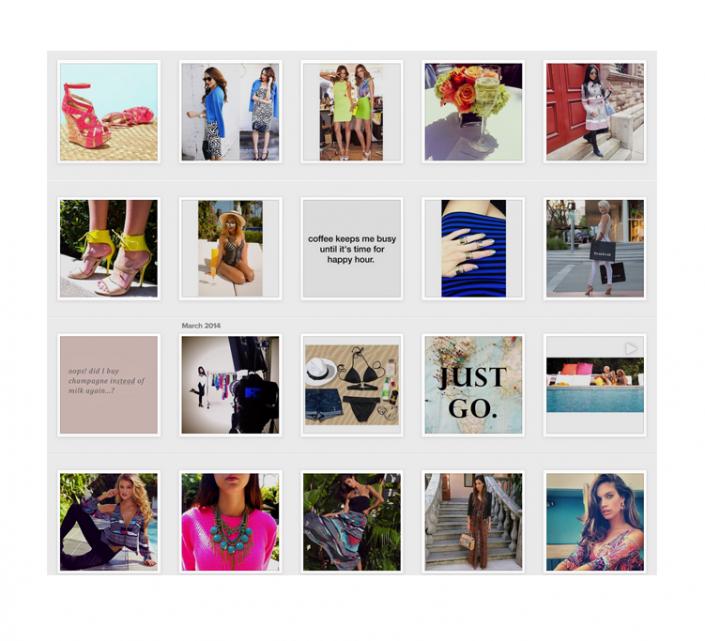 Bebe Instagram Copywriting