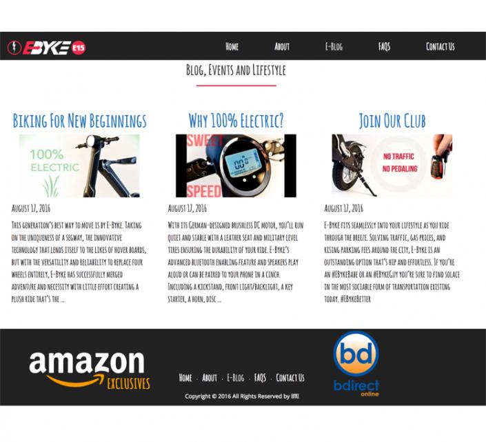 Website Production, Blogs & Design